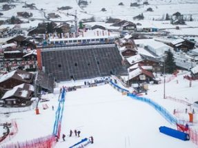 NUSSLI Event Infrastructure for the AUDI FIS Ski World Cup 2016 in Adelboden