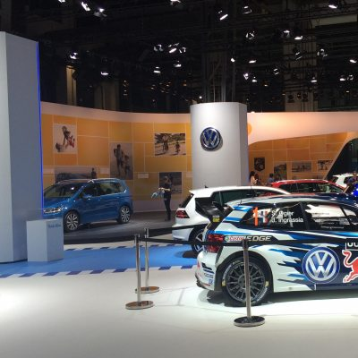 Volkswagen Trade Fair Appearance