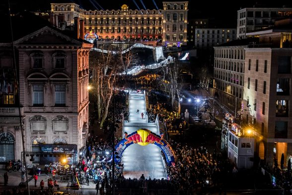 3rd Red Bull Crashed Ice Track from NUSSLI