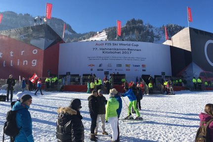 The Hahnenkamm Race in Kitzbühel 2017