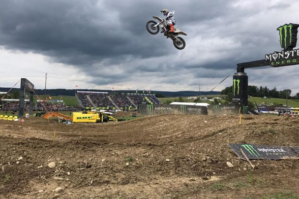 Elated Fans at MXGP of Switzerland 2018 in Frauenfeld
