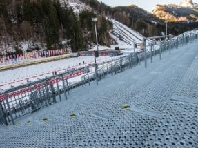 Standing Room for Nearly 10,000 at the Biathlon World Cup in Ruhpolding