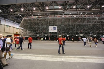 The 27,500 square meter Hall 6 of the Palexpo Exhibition Complex proved an ideal venue.