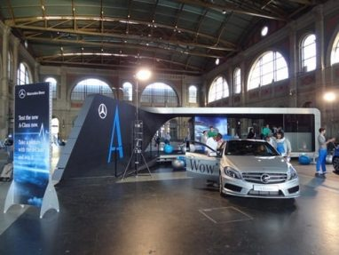 Mercedes-Benz Roadshow - 82 Stations all over Europe