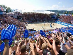 A1 Beach Volleyball Grand Slam Klagenfurt 2009; Foto: Bernhard Horst