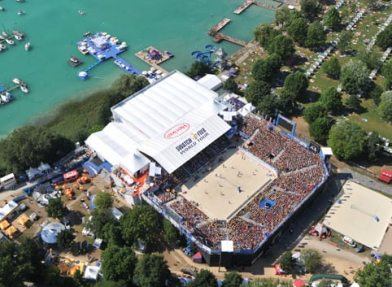 A1 Beach Volleyball Grand Slam, Klagenfurt 2009; Photo: Bernhard Horst