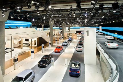 BMW Exhibition Stand, IAA 2009