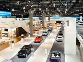 Messestand BMW IAA 2009
