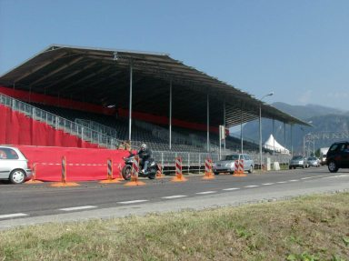 Grandstands for Cycling World Cup in Mendrisio