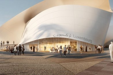 Ready to begin construction of Luxembourg pavilion