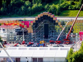 Electric Love Festival 2016: NUSSLI Builds Austria's Largest Electronic Music Festival.