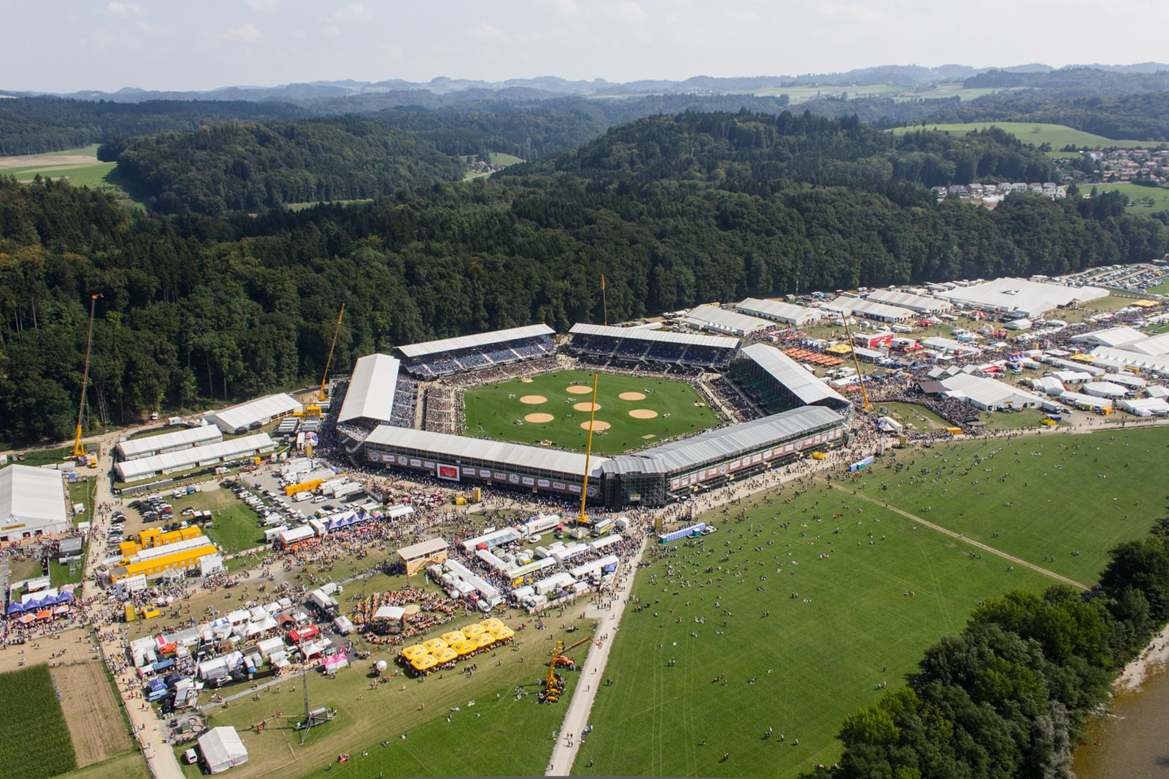 Herzstück Burgdorf eidgenössisches schwing und älplerfest 2013