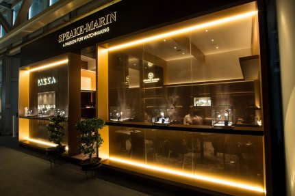 Speake Marin Exhibition Stand at Baselworld
