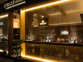 Speake Marin Messestand auf der Baselworld