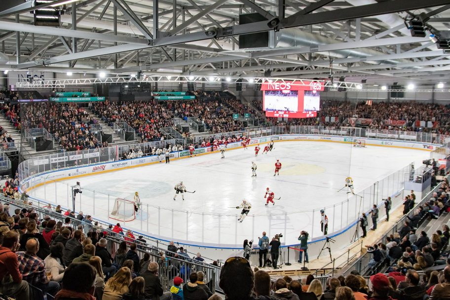 NUSSLI Builds the World's Largest Temporary Ice Hockey Arena