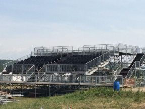 Pictures: VIP grandstand at the Openair Frauenfeld