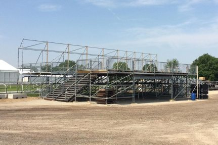 Pictures: Skyline Stage in Construction