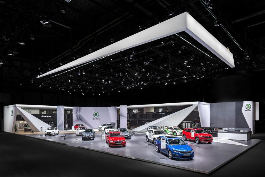 NUSSLI and AMBROSIUS built three Trade Fair Booths at 88th Geneva Motor Show