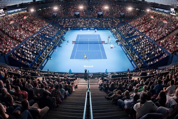 Grandstand Extension for the Swiss Indoors