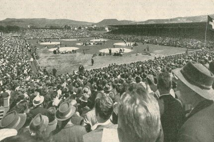 NUSSLI has already built the arena 20 times over. The first NUSSLI ESAF in Zug was in 1961.