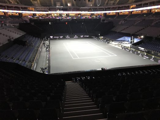 International Laver Cup with VIP Grandstands from NUSSLI