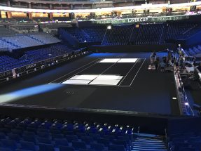 NUSSLI realized four VIP grandstands in the O2 Arena in Prague with more than 3,000 seats.