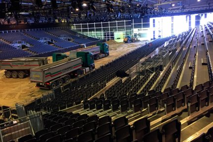 NUSSLI built a grandstand for Equitana 2017