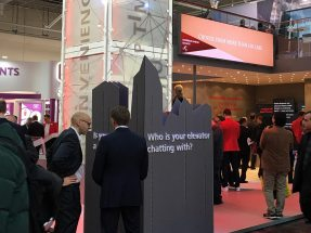 Image: In collaboration with Event Manufaktur, NUSSLI is realizing the 110-square-meter exhibition stand.