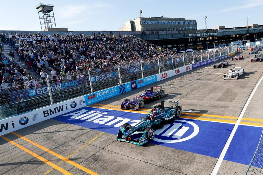 8,600 Grandstand Seats for 2018 BMW i Berlin E-Prix