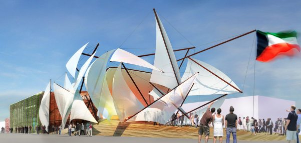 Kuwait Pavillon «Challenge of Nature»