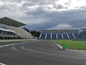 NUSSLI Grandstands at the Mexican Grand Prix