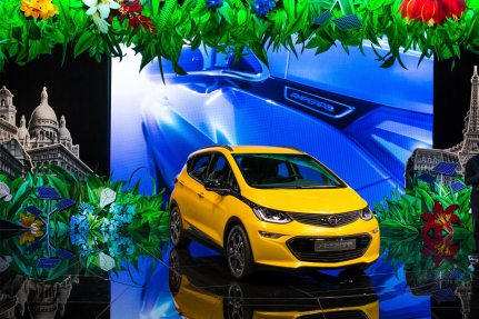 Opel, International Motor Show Paris