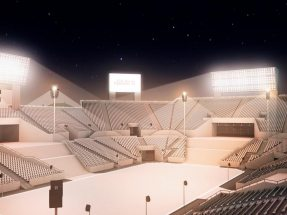 NUSSLI constructs a spectacular arena with 20,000 grandstand seats