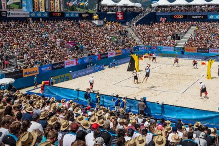Beach Volleyball Major Gstaad