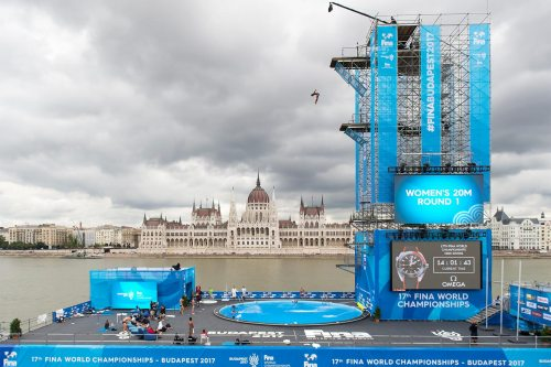 17th FINA World Championships, High Diving