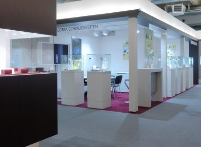 Impressions Concepts for complete trade fair booths