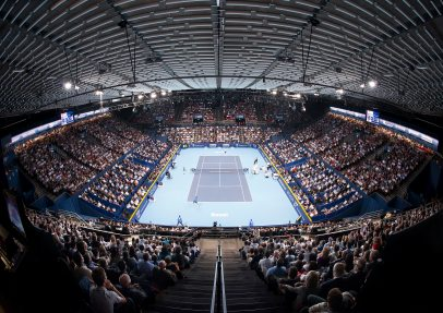 The Swiss Indoors with NUSSLI Grandstands