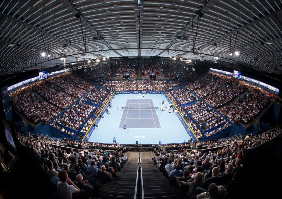 An Annual Affair: The Swiss Indoors with NUSSLI Grandstands