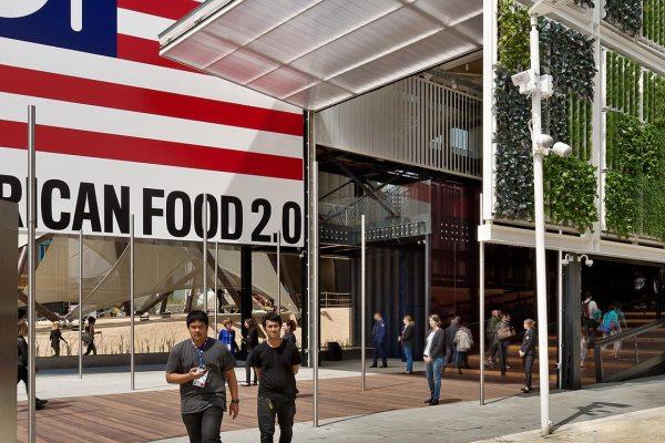 German expo presentation fields of ideas for American cuisine presentation