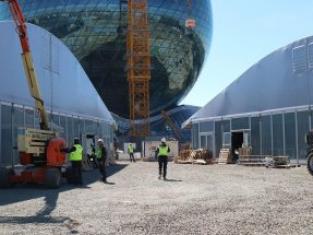 At Expo 2017 in Astana, NUSSLI is realizing several exhibition pavilions.