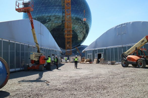 EXPO 2017 Astana: Only 50 days left until opening