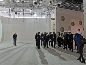 Completion Ceremony of the Main Structure for China Pavilion at Expo Astana 2017