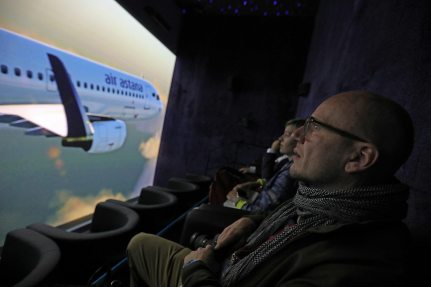 Picture: The Pavilion of Air Astana inspires visitors to travel
