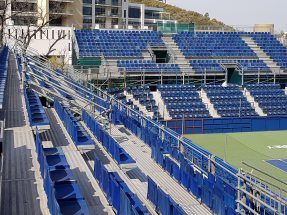 NUSSLI has once again built the grandstands with a total of 1280 seats and a VIP platform.