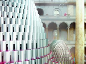 "Foto: Rendering ""Hive"" Projekt von Studio Gang, National Building Museum Washington"
