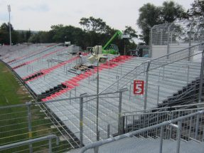 A stadium expansion for the Würzburger Kickers
