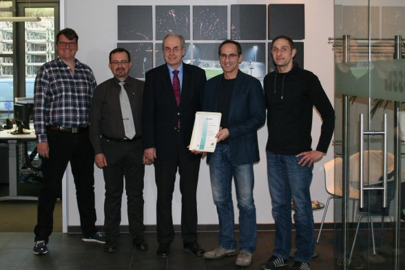 NUSSLI received the new OHRIS certificate.